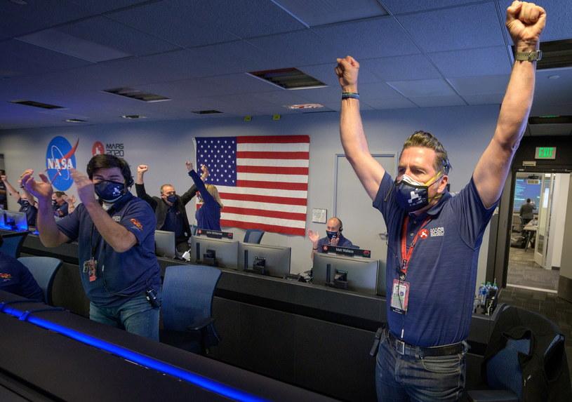 To historyczny moment /NASA /PAP