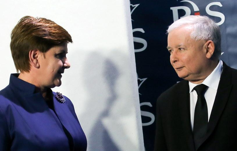 To Jarosław Kaczyński dobierał Beacie Szydło ministrów /Paweł Supernak /PAP