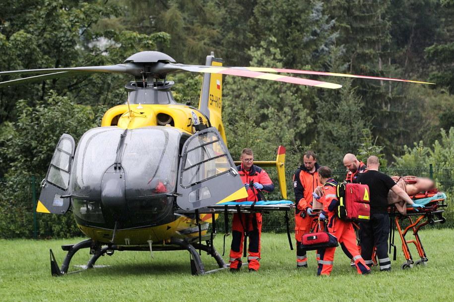 To jedna z najtrudniejszych akcji w Tatrach / Grzegorz Momot    /PAP