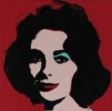 To jedno z 13 portretów aktorki stworzonych przez Warhola /AFP