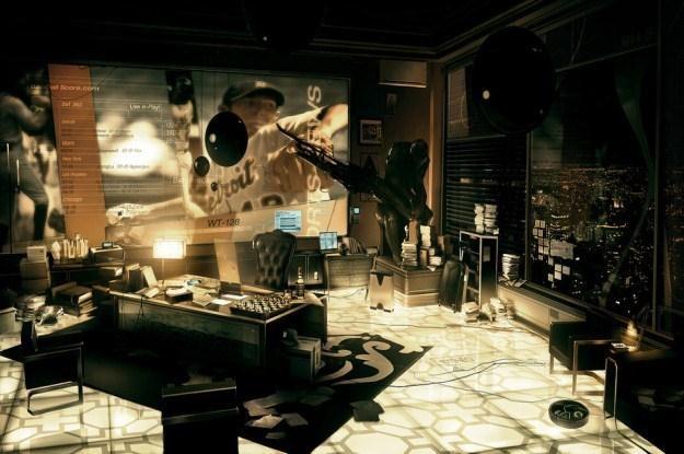 To jedynie screen z gry Deus Ex: Human Revolution, czy tak będą wyglądały mieszkania przyszłości? /materiały prasowe