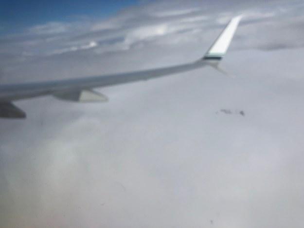 """""""To jest wielki masywny front. Gruba warstwa chmur"""" /Bogdan M. Kwiatek /"""