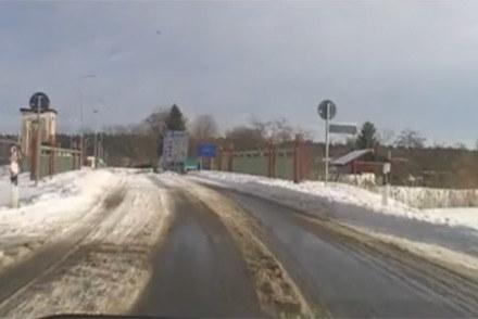 To jeszcze droga w Niemczech. Jak klikniejsz znajdziesz się już w Polsce... /