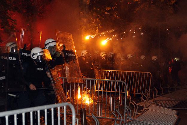 To już kolejna demonstracja przeciwko obecnym władzom Czarnogóry /AFP