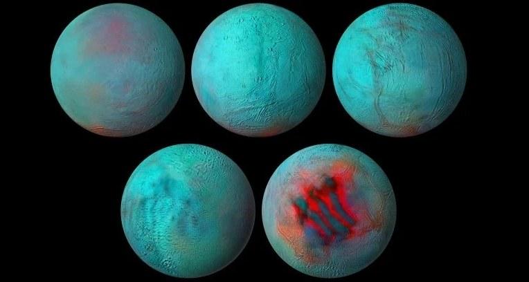 To już pewne - na Enceladusie jest jakaś forma aktywności geotermalnej /materiały prasowe