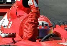 To już trzecie z rzędu zwycięstwo Schumachera w Australii /poboczem.pl
