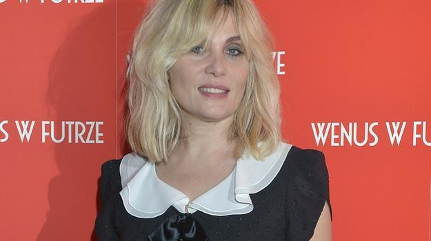 """To komedia, ale mówiąca o sprawach poważnych - opisywała """"Wenus w futrze"""" aktorka / fot. Gałązka /AKPA"""