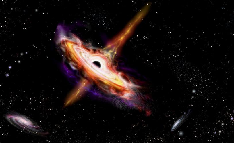 To kwazary produkują wysokoenergetyczne neutrina /123RF/PICSEL