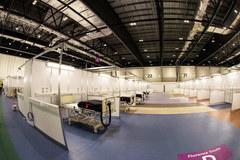 To ma być największy szpital w Wielkiej Brytanii. W Londynie otwarto tymczasową placówkę