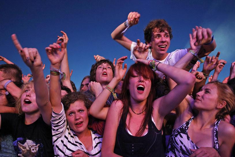 To młodzi tworzą atmosferę koncertów /Łukasz Głowala /Agencja FORUM
