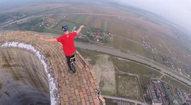 To mogło skończyć się tragicznie... /Flaviu Cernescu /YouTube