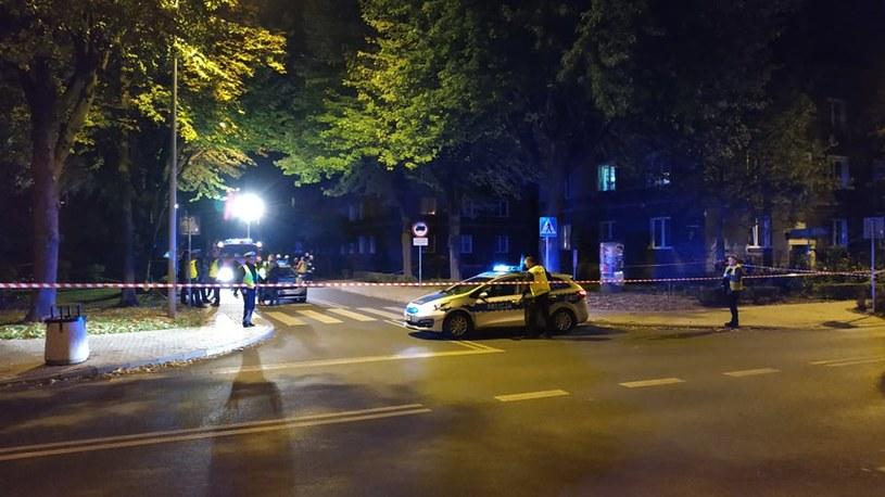 To na tym przejściu doszło do tego incydentu. W drugim planie, po lewej stronie, radiowóz  biorący udział w zdarzeniu / Fot: czytelnik /