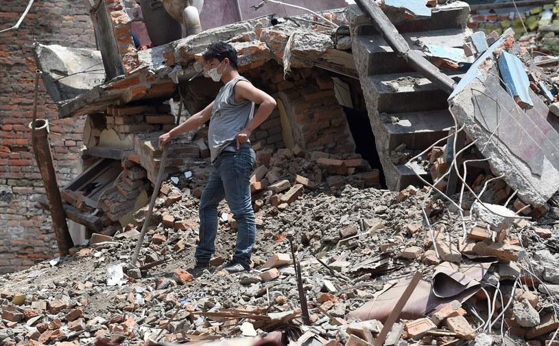 To najgorsze trzęsienie ziemi w Nepalu od ponad 80 lat /AFP