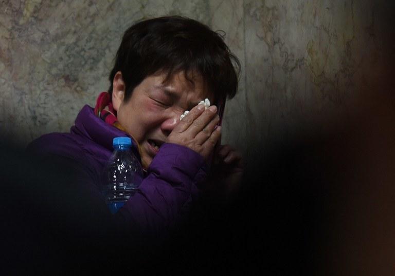 To najtragiczniejszy tego typu incydent w Chinach od ponad dekady /AFP