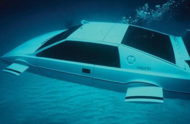 To nie animacja komputerowa. To łódź podwodna w kształcie Lotusa /