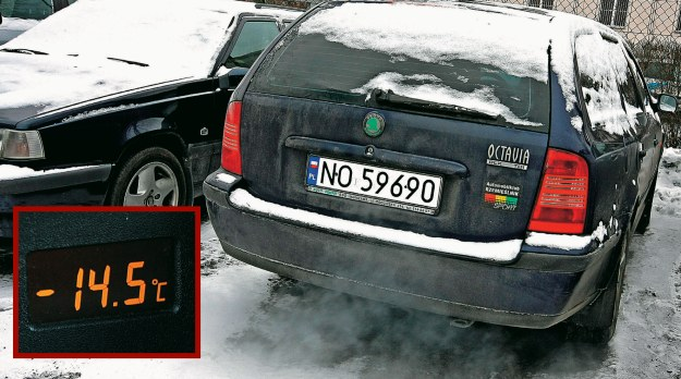 To nie awaria, to zima /Motor
