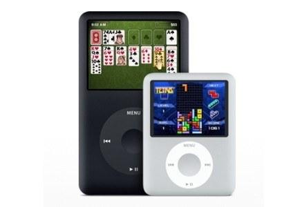 To nie GameBoy, ani PSP, ale nowe iPody nadają się do gier. /materiały prasowe