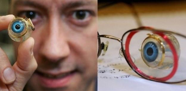 To nie jest szklane oko, tylko bioniczne oko /Gadżetomania.pl