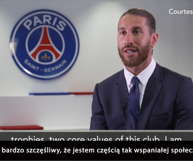 """""""To nowe wyzwanie w mojej karierze"""" – Sergio Ramos o swoich ambicjach w PSG. Wideo"""