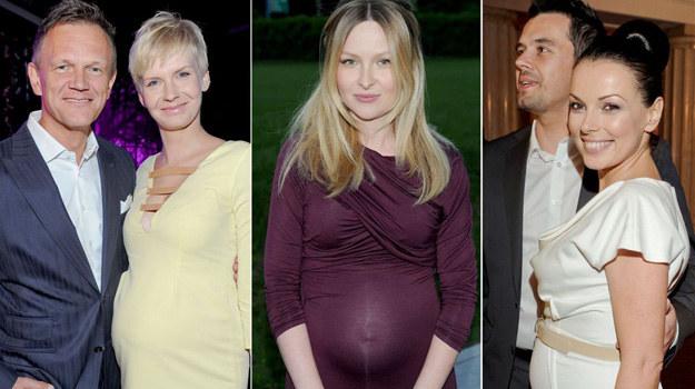 To oni w 2012 roku zostali rodzicami! /Agencja W. Impact