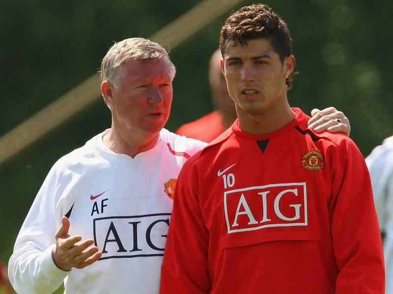 To pod skrzydłami Alexa Fergusona gwiazdą światowego formatu stał się Cristiano Ronaldo. /AFP