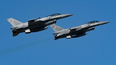 To polskie F-16 przechwyciły nad Bałtykiem samolot rosyjskiego ministra