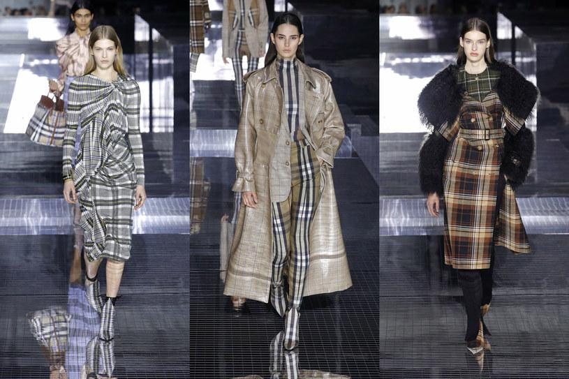 To propozycje noszenia kraty przez markę Burberry /East News/ Zeppelin