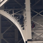 To Rosjanin żądający azylu wspiął się nielegalnie na Wieżę Eiffela