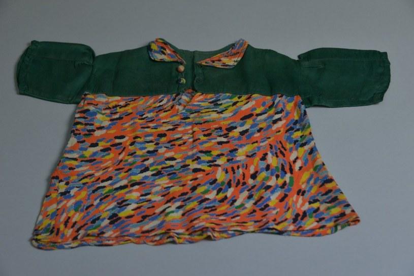 To sukienka uszyta przez więźniarkę Auschwitz /Muzeum Auschwitz /