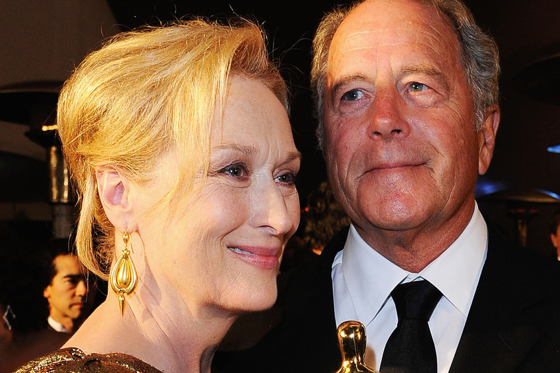 To swojemu mężowi Meryl zawsze w pierwszej kolejności dziekuję odbierając wszelkie nagrody /Getty Images