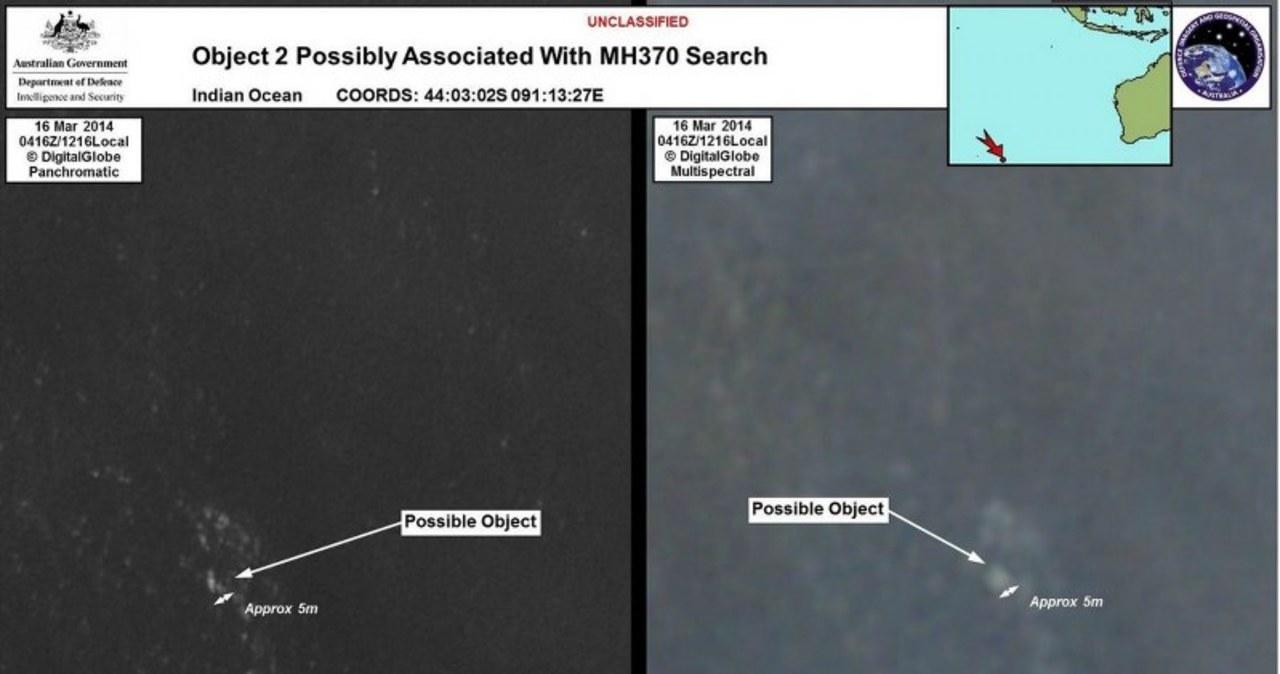To szczątki zaginionego Boeinga 777?
