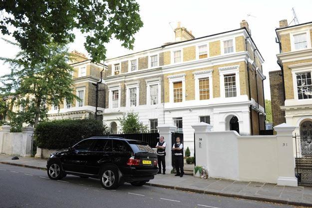 To tu mieszkała Amy Winehouse - fot. Splash News /East News