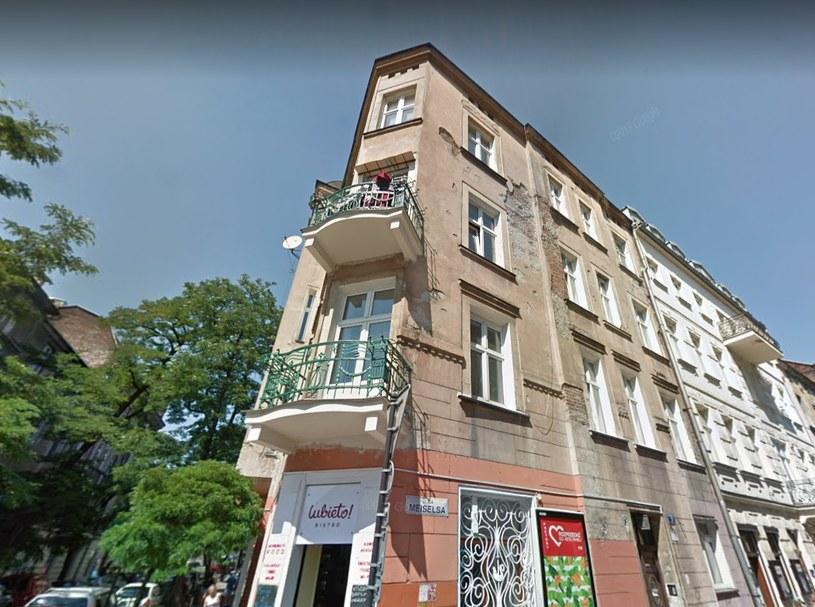 To w tej kamienicy mieszkał Karol Kot /Google Maps /INTERIA.PL