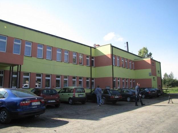 To w tym budynku doszło do tragedii /Agnieszka Wyderka /RMF FM