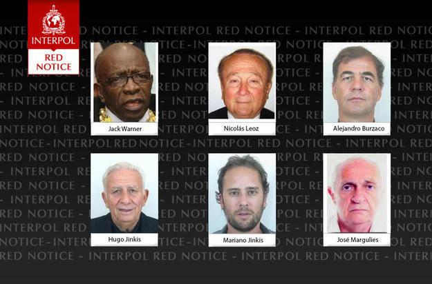 To za nimi wysłano list gończy / fot Interpol /INTERIA.PL