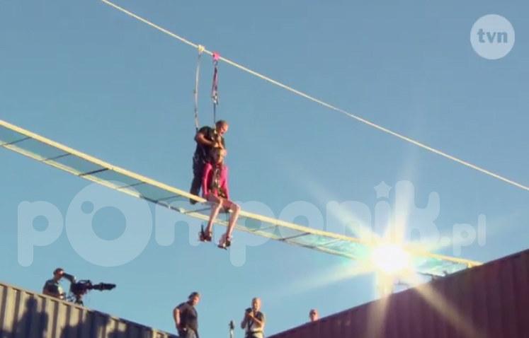 To zadanie wymagało odwagi! /- /TVN