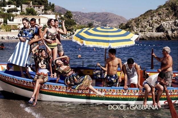 To zdjęcie pojawiło się jako zapowiedź kampanii Dolce&Gabbana /materiały prasowe