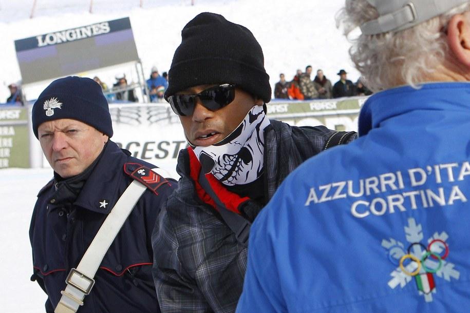 To zdjęcie Tigera Woodsa obiegło świat /ANDREA SOLERO /PAP/EPA