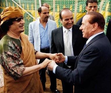 """""""To, że Berlusconi pocałował Kadafiego w rękę, to drobiazg"""""""