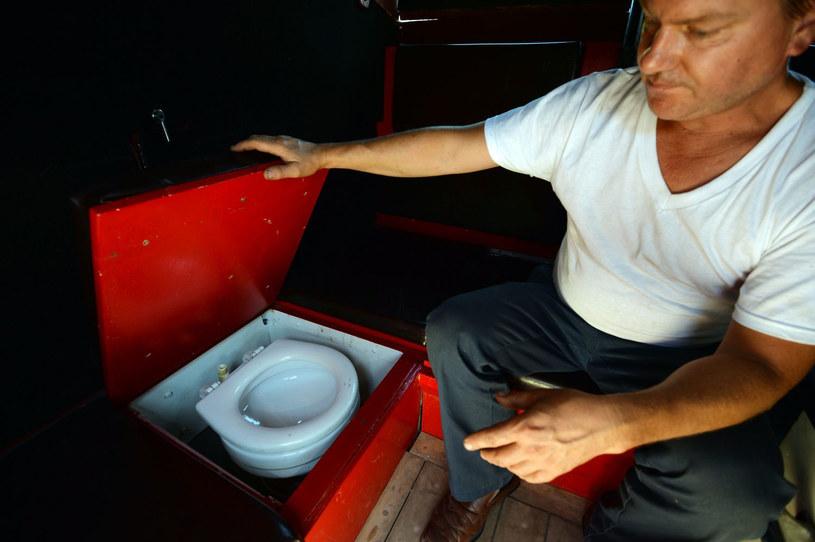 Toaleta... /AFP
