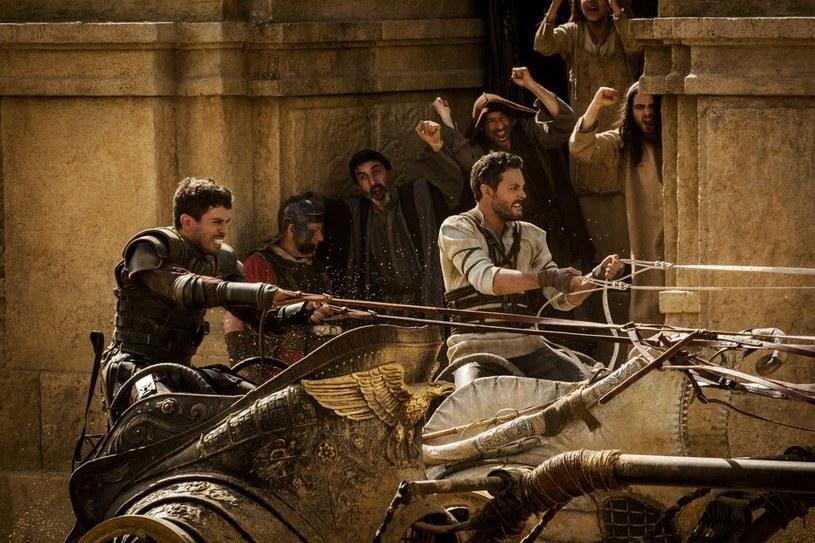 "Toby Kebbell i Jack Huston w scenie z ""Ben-Hura"" /materiały prasowe"