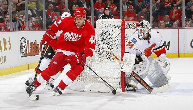 Todd Bertuzzi z Detroit Red Wings /AFP