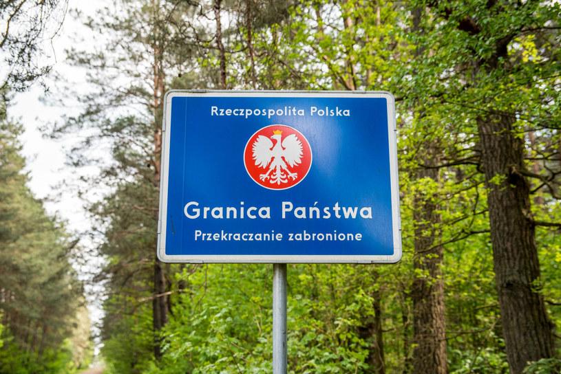 Tokary, przejście graniczne we wsi graniczącej z Białorusią /Marcin Bruniecki /Reporter