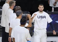 Tokio 2020. Amerykańcy koszykarze w komplecie na kilkanaście godzin przez pierwszym meczem