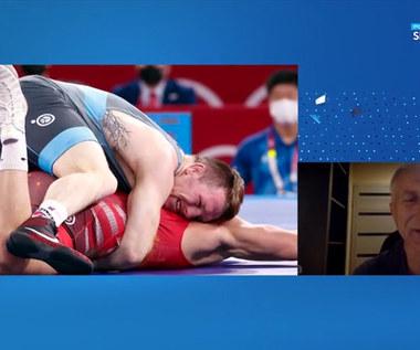 Tokio 2020. Antoni Obrycki: Spodziewałem się równej walki. Tadeusz Michalik świetnie wykonał akcję techniczną (POLSAT SPORT). Wideo