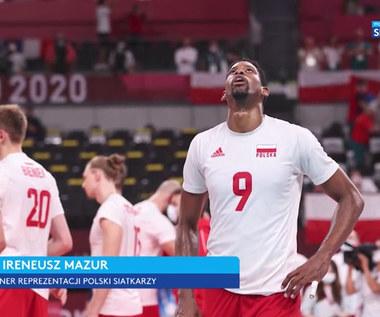 Tokio 2020. Ireneusz Mazur po meczu Polska - Francja: Zabrakło mi jednej rzeczy... (POLSAT SPORT). Wideo