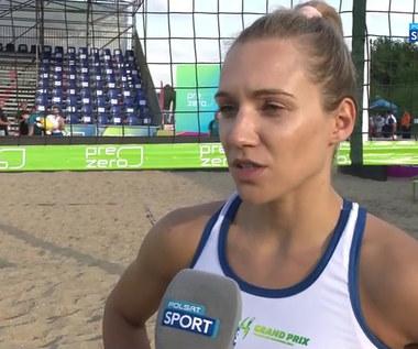 Tokio 2020. Izabela Lemańczyk: Bardzo kibicuję naszym siatkarzom na igrzyskach. WIDEO (POLSAT SPORT)