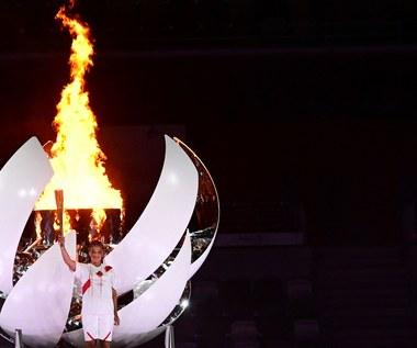 Tokio 2020. Japońska tenisistka Naomi Osaka zapaliła znicz olimpijski