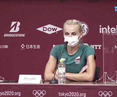 Tokio 2020. Justyna Święty-Ersetic i Kajetan Duszyński skomentowali zdobycie złotego medalu w sztafecie (POLSAT SPORT). Wideo