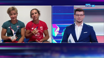Tokio 2020. Katarzyna Zillmann i Maria Sajdak skomentowały zdobycie srebrnego medalu (POLSAT SPORT) Wideo